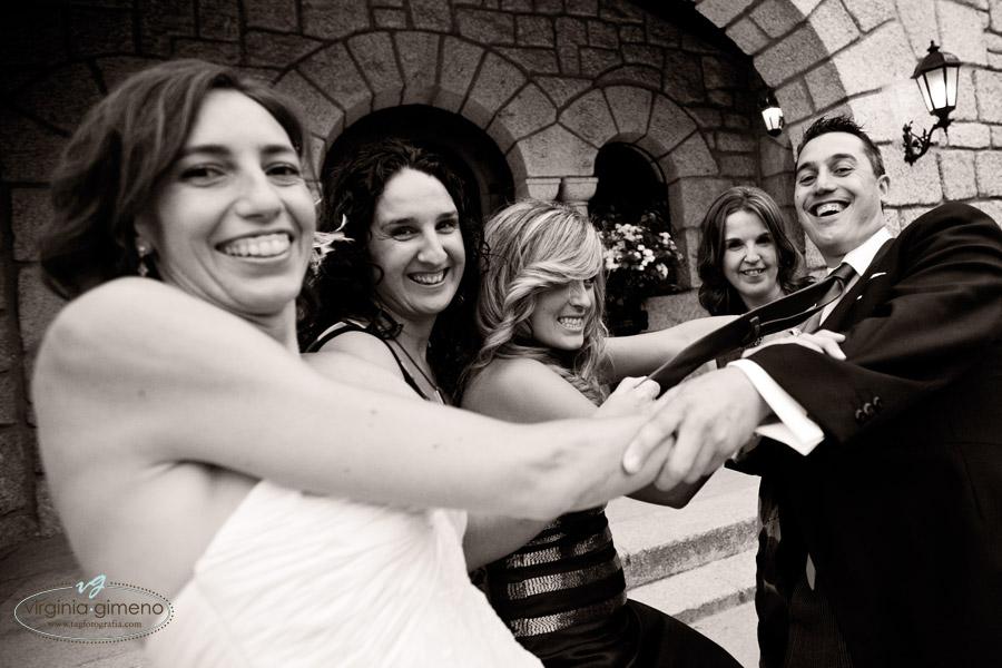 ramo novia catering senescal coche boda ingles